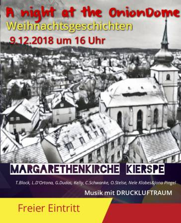 A Night at the onion Dome - Die Weihnachtslesung 2018