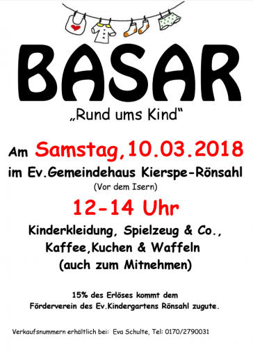 Kinder- Secondhand- Basar