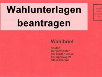 roter Wahlbrief
