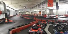 Indoor-Kartbahn in Dortmund