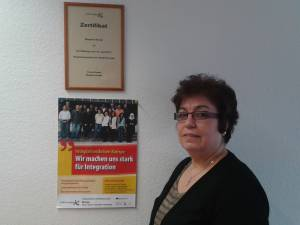 Integrationslotsin Frau Kartal